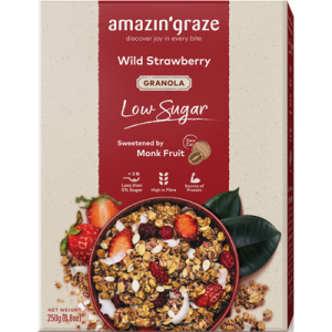 Low Sugar Wild Strawberry Granola